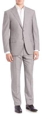 Corneliani Two-Button Wool Suit