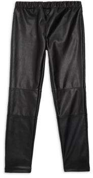 Splendid Baby Girl's Faux-Leather Leggings