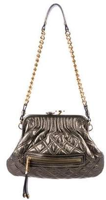 Marc Jacobs Quilted Leather Mini Stam Bag