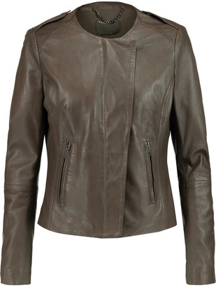 Muubaa Norma leather jacket $575 thestylecure.com