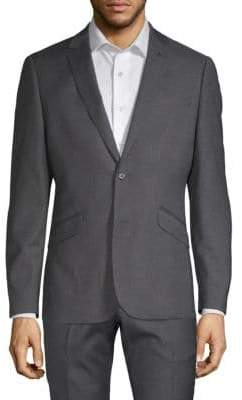 Extra Slim Fit Notch Lapel Standard-Fit Sportcoat