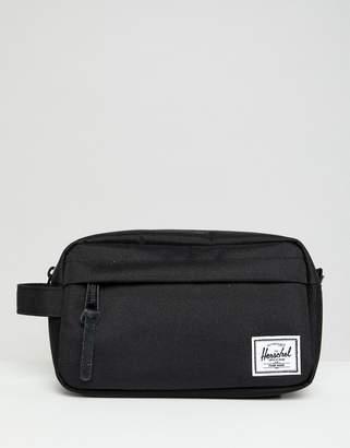 Herschel Chapter Black Carry On Toiletry Bag