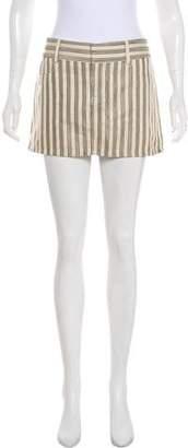 Alice + Olivia Stripe Mini Skirt