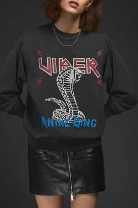 Anine Bing Serpent Sweatshirt