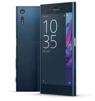 Sony Xperia Xz 5.2-Inch 32 Gb Sim-Free Smart Phone - Forest Blue