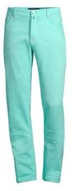 Kiton Slim-Fit Stretch Jeans