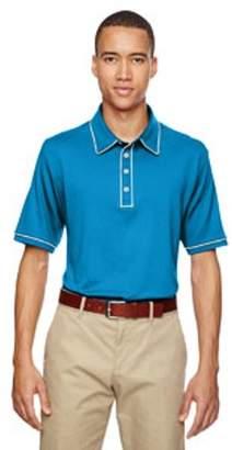 adidas Men's puremotion Piped Polo - SOLAR BLUE - 3XL A125