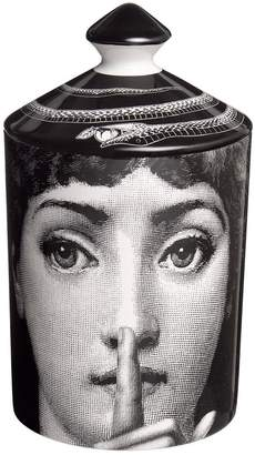 Fornasetti Silenzio Otto Scented Candle With Lid