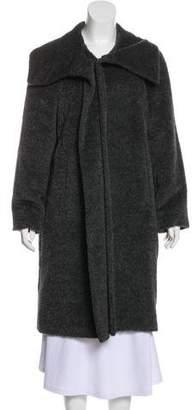 Max Mara Alpaca-Blend Knee-Length Coat