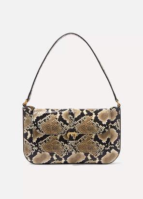 BY FAR Miranda Snake-effect Leather Shoulder Bag - Snake print