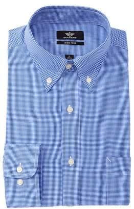 Dockers Non-Iron Mini Check Print Dress Shirt