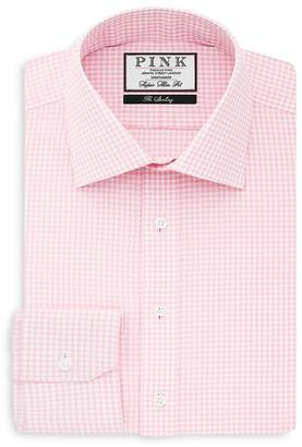 Thomas Pink Greenwood Check Super Slim Fit Dress Shirt - Bloomingdale's Slim Fit