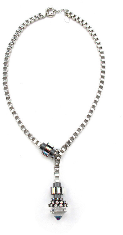 Elizabeth Cole Jewelry - Vesper Necklace AB