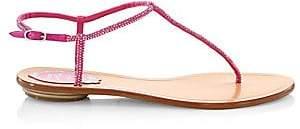 Rene Caovilla Women's Jewel T-Strap Sandals