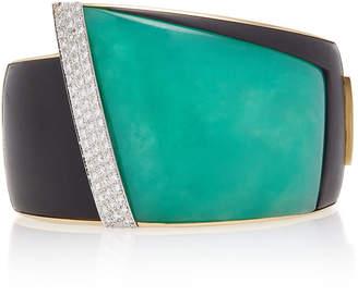 Fratelli Piccini African Wave 18K Gold Multi-Stone Bracelet