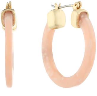Liz Claiborne 30mm Round Hoop Earrings