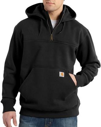 Carhartt Rain Defender Paxton Heavyweight Hooded Zip Mock Sweatshirt - Men's