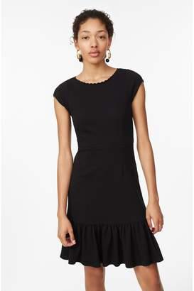 Rebecca Taylor Honeycomb Stretch Texture Dress