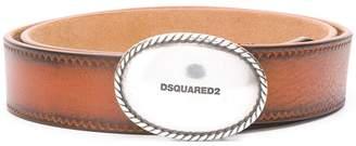 DSQUARED2 Cowboy plaque belt
