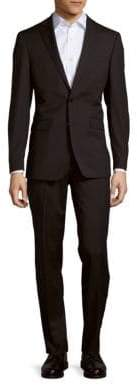 Calvin Klein Mini Stripe Wool-Blend Suit