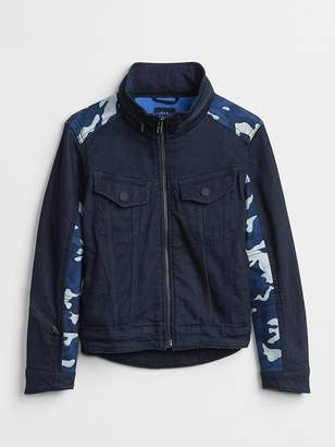 Gap Superdenim Reflective Camo Jacket with Defendo