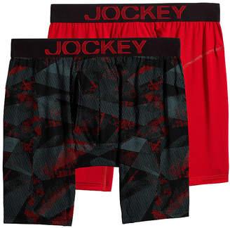 Jockey 2 Pair Athletic RapidCool Midways - Men's