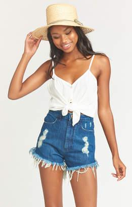 Show Me Your Mumu Houston High Waisted Shorts ~ Nile