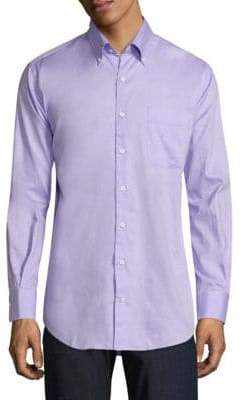 Peter Millar Crown Pinpoint Shirt