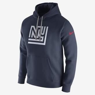 Nike Club (NFL Giants) Men's Fleece Pullover Hoodie