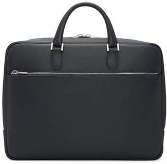 Valextra Navy Academia Briefcase