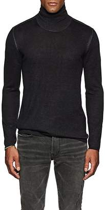 John Varvatos Men's Silk-Cashmere Turtleneck Sweater