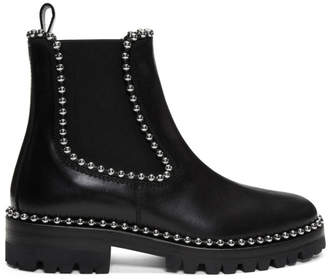 Alexander Wang Black Spencer Boots