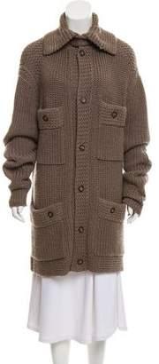 Haute Hoodie Heavy Knit Wool Cardigan
