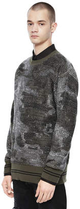 Diesel Black Gold Diesel Sweaters BGKJL - Green - M