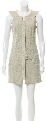 Isabel Marant Sleeveless Embroidered Dress