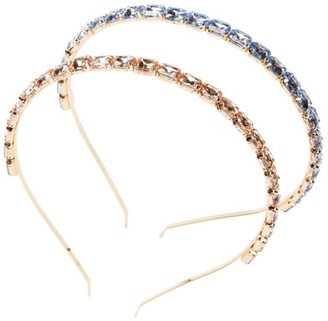 Berry Brooch Metal Headbands - Pack of 2 $14.97 thestylecure.com