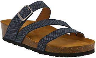 Spring Step Leather Slide Sandals - Flossie