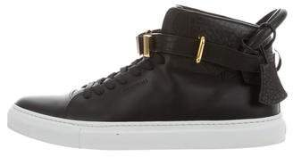 Buscemi 100MM High-Top Sneakers
