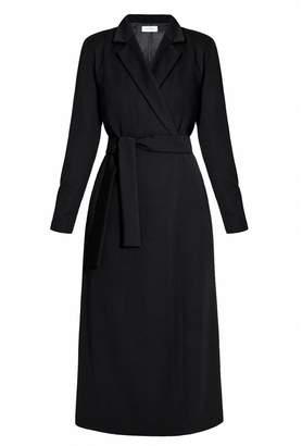 UNDRESS - Myria Black Tailored Occasion Midi Blazer Dress