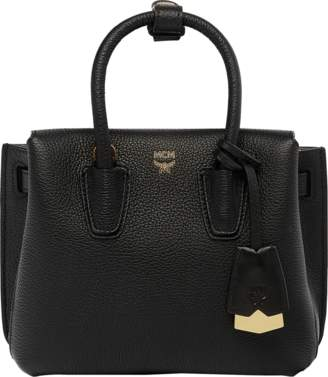 MCM Milla Tote In Grained Leather