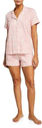 BedHead Leopard-Print Shortie Pajama Set