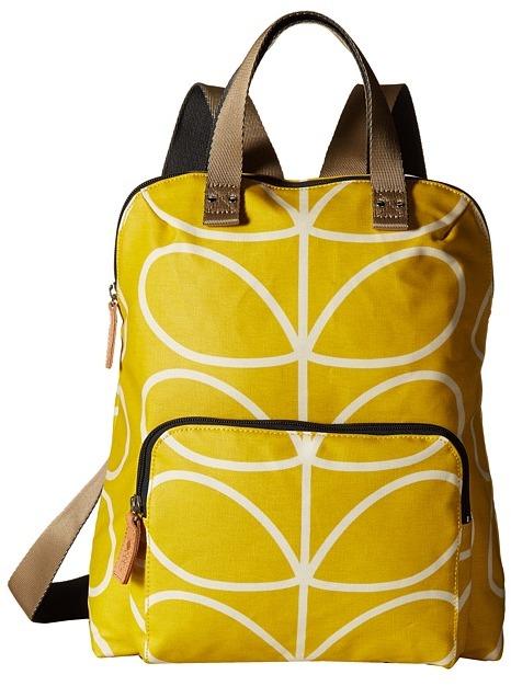Orla Kiely Giant Linear Stem Backpack Tote