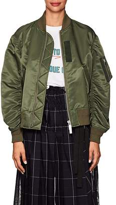 Sacai Women's Tech-Fabric Bomber Jacket