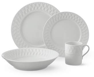 Apilco Cassis Dinnerware 16-Piece Place Setting