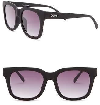 Quay Libre 70mm Square Sunglasses
