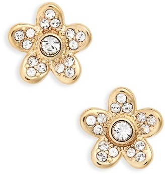 Women's Marc Jacobs Coin Flower Stud Earrings $45 thestylecure.com