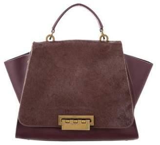 Zac Posen Ponyhair & Leather Eartha Iconic Bag