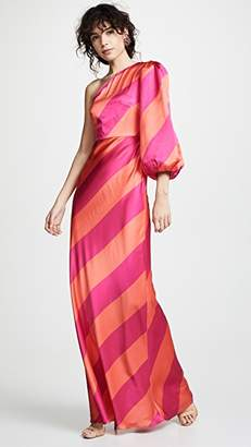 Saloni Lily Stripe Dress