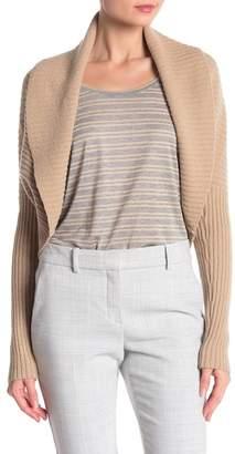 Lafayette 148 New York Wool Blend Shawl Collar Long Sleeve Sweater