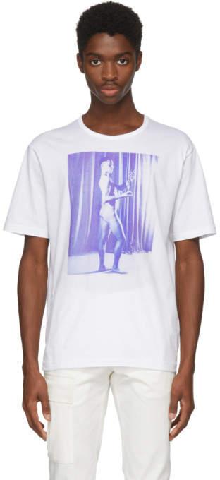 White Carl Van Vechten Print T-shirt